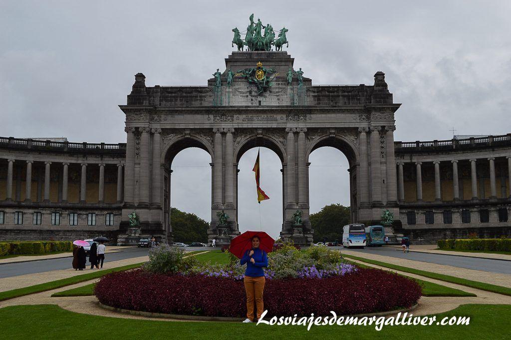 Parque cincuentenario de Bruselas - Los viajes de Margalliver